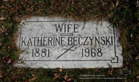 LAWICKI KATHERINE, BECZYNSKI - Lucas County, Ohio   BECZYNSKI LAWICKI KATHERINE - Ohio Gravestone Photos