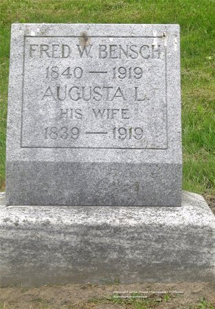BENSCH, FRED W. - Lucas County, Ohio | FRED W. BENSCH - Ohio Gravestone Photos
