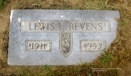 BEVENS, LEWIS E. - Lucas County, Ohio   LEWIS E. BEVENS - Ohio Gravestone Photos