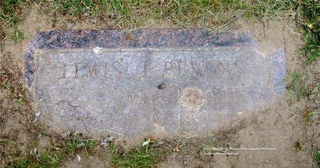 BEVENS, LEWIS J. - Lucas County, Ohio | LEWIS J. BEVENS - Ohio Gravestone Photos