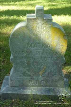BIALECKA, MARYA - Lucas County, Ohio | MARYA BIALECKA - Ohio Gravestone Photos
