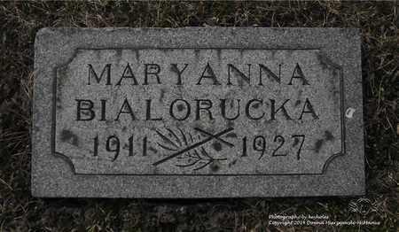 BIALORUCKA, MARYANNA - Lucas County, Ohio | MARYANNA BIALORUCKA - Ohio Gravestone Photos