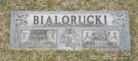 MARAS BIALORUCKI, ROSE - Lucas County, Ohio | ROSE MARAS BIALORUCKI - Ohio Gravestone Photos