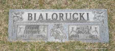 BIALORUCKI, ROSE - Lucas County, Ohio   ROSE BIALORUCKI - Ohio Gravestone Photos