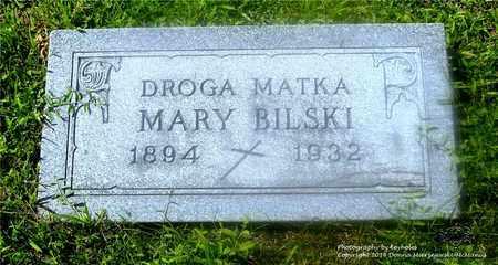 MARKUSZ BILSKI, MARY - Lucas County, Ohio | MARY MARKUSZ BILSKI - Ohio Gravestone Photos