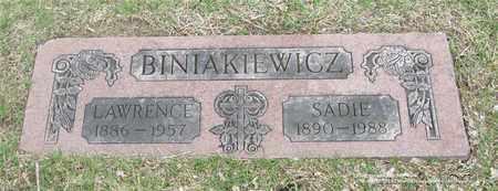 BINIAKIEWICZ, SADIE - Lucas County, Ohio | SADIE BINIAKIEWICZ - Ohio Gravestone Photos