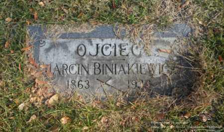 BINIAKIEWICZ, MARCIN - Lucas County, Ohio | MARCIN BINIAKIEWICZ - Ohio Gravestone Photos