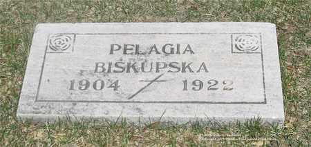 BISKUPSKA, PELAGIA - Lucas County, Ohio   PELAGIA BISKUPSKA - Ohio Gravestone Photos