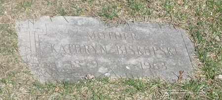 SIMINSKI BISKUPSKI, KATHRYN - Lucas County, Ohio   KATHRYN SIMINSKI BISKUPSKI - Ohio Gravestone Photos