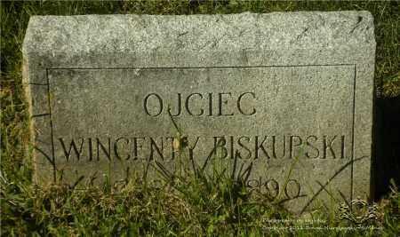 BISKUPSKI, WINCENTY - Lucas County, Ohio   WINCENTY BISKUPSKI - Ohio Gravestone Photos