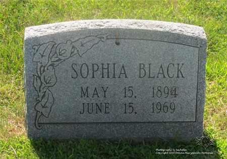 BLACK, SOPHIA - Lucas County, Ohio   SOPHIA BLACK - Ohio Gravestone Photos