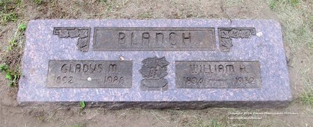 BLANCH, GLADYS M. - Lucas County, Ohio   GLADYS M. BLANCH - Ohio Gravestone Photos
