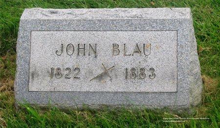 BLAU, JOHN - Lucas County, Ohio | JOHN BLAU - Ohio Gravestone Photos
