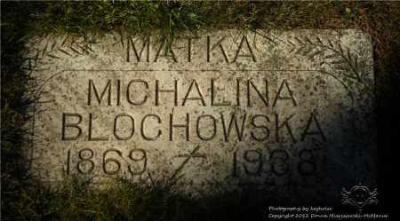 BLOCHOWSKA, MICHALINA - Lucas County, Ohio | MICHALINA BLOCHOWSKA - Ohio Gravestone Photos