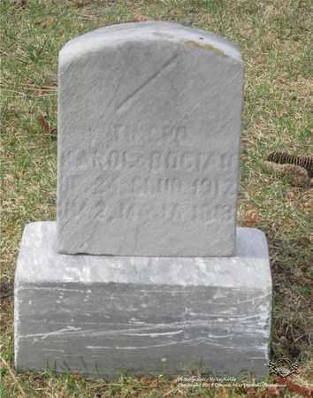 BOCIAN, KAROL - Lucas County, Ohio | KAROL BOCIAN - Ohio Gravestone Photos