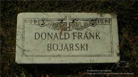 BOJARSKI, DONALD FRANK - Lucas County, Ohio | DONALD FRANK BOJARSKI - Ohio Gravestone Photos