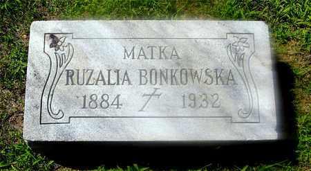 GAWINSKI BONKOWSKA, ROZALIA - Lucas County, Ohio | ROZALIA GAWINSKI BONKOWSKA - Ohio Gravestone Photos