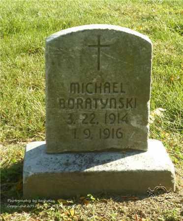 BORATYNSKI, MICHAEL - Lucas County, Ohio | MICHAEL BORATYNSKI - Ohio Gravestone Photos