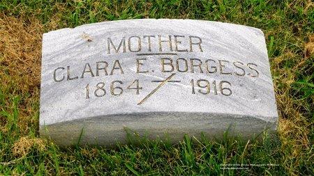 BORGESS, CLARA - Lucas County, Ohio   CLARA BORGESS - Ohio Gravestone Photos