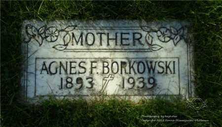 LYKOWSKI BORKOWSKI, AGNES - Lucas County, Ohio   AGNES LYKOWSKI BORKOWSKI - Ohio Gravestone Photos