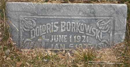 BORKOWSKI, DOLORIS - Lucas County, Ohio | DOLORIS BORKOWSKI - Ohio Gravestone Photos