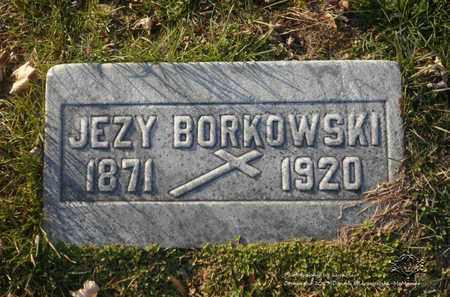 BORKOWSKI, JEZY - Lucas County, Ohio | JEZY BORKOWSKI - Ohio Gravestone Photos