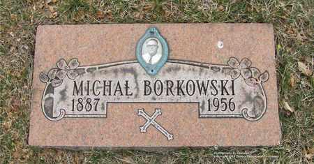 BORKOWSKI, MICHAL - Lucas County, Ohio | MICHAL BORKOWSKI - Ohio Gravestone Photos