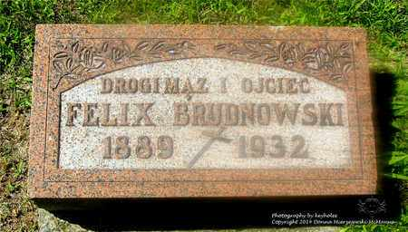 BRUDNOWSKI, FELIX - Lucas County, Ohio   FELIX BRUDNOWSKI - Ohio Gravestone Photos