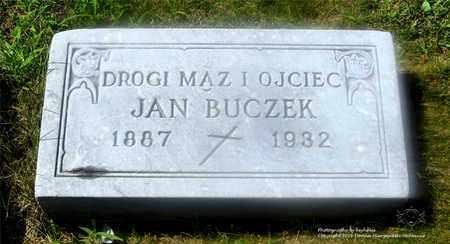 BUCZEK, JAN - Lucas County, Ohio | JAN BUCZEK - Ohio Gravestone Photos