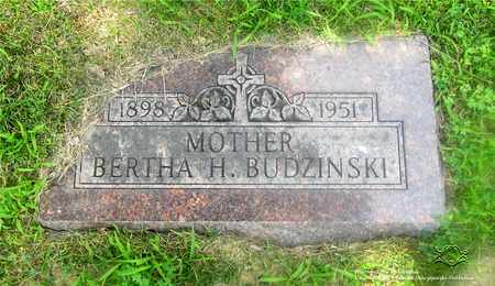 BUDZINSKI, BERTHA - Lucas County, Ohio   BERTHA BUDZINSKI - Ohio Gravestone Photos