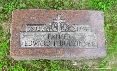 BUDZINSKI, EDWARD F. - Lucas County, Ohio | EDWARD F. BUDZINSKI - Ohio Gravestone Photos