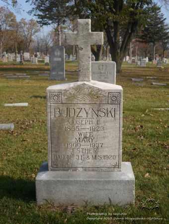 ROSENTHAL BUDZYNSKI, MARY - Lucas County, Ohio | MARY ROSENTHAL BUDZYNSKI - Ohio Gravestone Photos