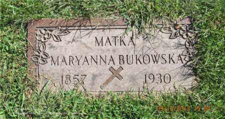 BUKOWSKA, MARYANNA - Lucas County, Ohio | MARYANNA BUKOWSKA - Ohio Gravestone Photos