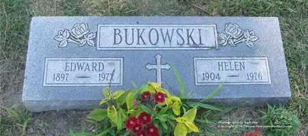 BUKOWSKI, EDWARD - Lucas County, Ohio | EDWARD BUKOWSKI - Ohio Gravestone Photos