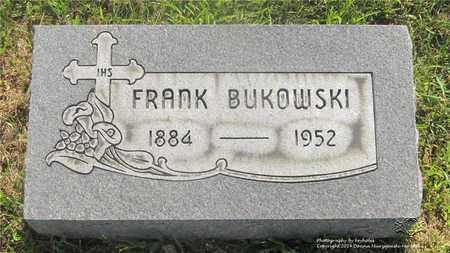 BUKOWSKI, FRANK - Lucas County, Ohio | FRANK BUKOWSKI - Ohio Gravestone Photos