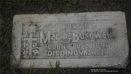 BUKOWSKI, MARTHA - Lucas County, Ohio | MARTHA BUKOWSKI - Ohio Gravestone Photos