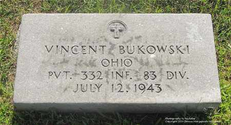 BUKOWSKI, VINCENT - Lucas County, Ohio | VINCENT BUKOWSKI - Ohio Gravestone Photos