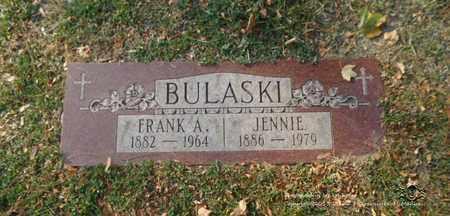 BULASKI, JENNIE - Lucas County, Ohio | JENNIE BULASKI - Ohio Gravestone Photos