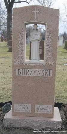 BURZYNSKI, REGINA B. - Lucas County, Ohio | REGINA B. BURZYNSKI - Ohio Gravestone Photos
