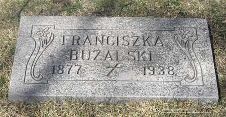 BUZALSKI, FRANCISZKA - Lucas County, Ohio | FRANCISZKA BUZALSKI - Ohio Gravestone Photos