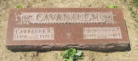 CAVANAUGH, LAWRENCE C. - Lucas County, Ohio | LAWRENCE C. CAVANAUGH - Ohio Gravestone Photos