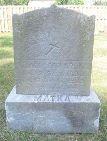 CEGLARSKA, PELAGIA - Lucas County, Ohio | PELAGIA CEGLARSKA - Ohio Gravestone Photos