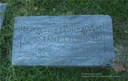 CHAPINSKI, KONSTANT - Lucas County, Ohio | KONSTANT CHAPINSKI - Ohio Gravestone Photos