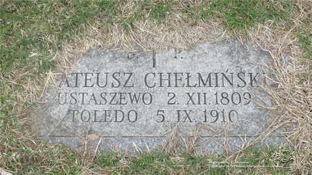 CHELMINSKI, MATEUSZ - Lucas County, Ohio | MATEUSZ CHELMINSKI - Ohio Gravestone Photos