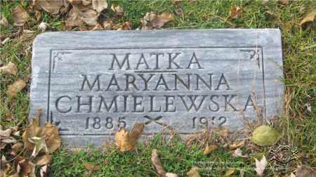 CHMIELEWSKA, MARYANNA - Lucas County, Ohio | MARYANNA CHMIELEWSKA - Ohio Gravestone Photos