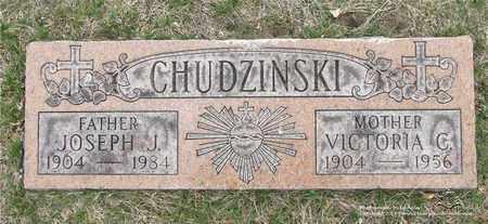 CHUDZINSKI, VICTORIA C. - Lucas County, Ohio | VICTORIA C. CHUDZINSKI - Ohio Gravestone Photos