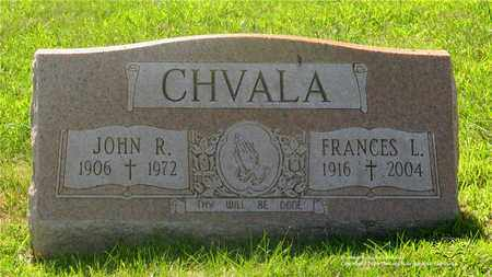 CHVALA, JOHN R. - Lucas County, Ohio   JOHN R. CHVALA - Ohio Gravestone Photos