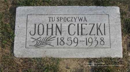 CIEZKI, JOHN - Lucas County, Ohio   JOHN CIEZKI - Ohio Gravestone Photos