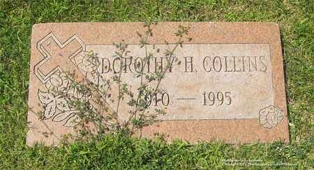 COLLINS, DOROTHY H. - Lucas County, Ohio | DOROTHY H. COLLINS - Ohio Gravestone Photos