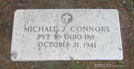 CONNORS, MICHAEL J. - Lucas County, Ohio   MICHAEL J. CONNORS - Ohio Gravestone Photos